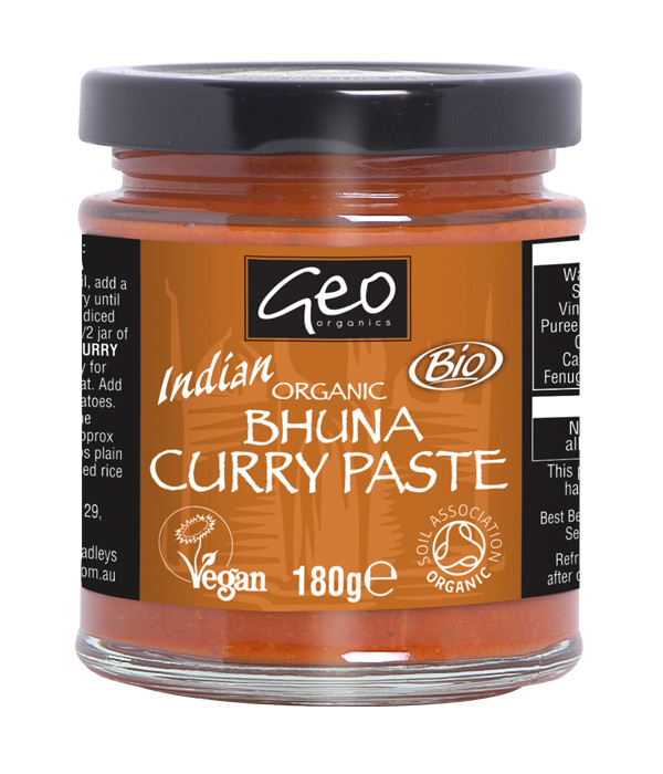 Organic Bhuna Curry Paste