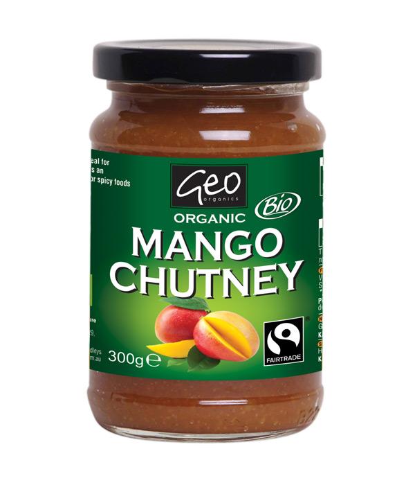 Fairtrade Mango Chutney