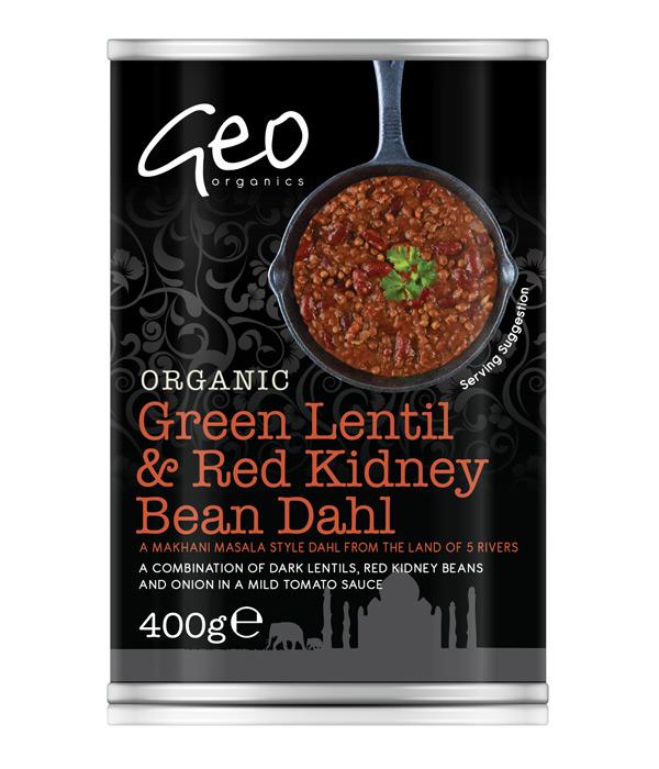 Green Lentil & Red Kidney Bean Dahl