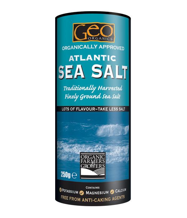 Ground Atlantic Sea Salt