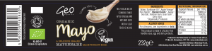 Mayo label artwork