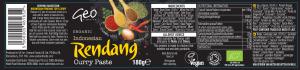 Rendang label artwork