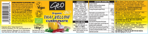 thai yellow label artwork